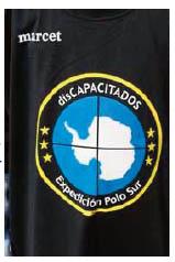 Camiseta, expedicion Polo Sur