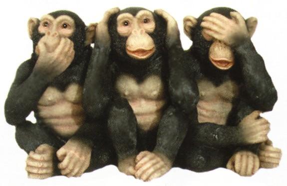 monos ver oir y callar