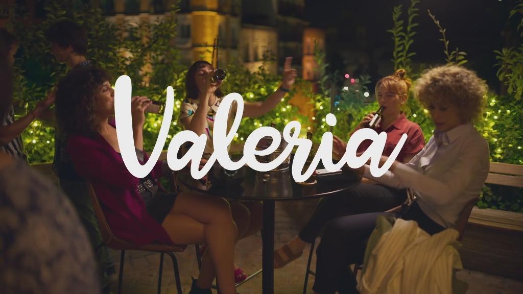 Valeria, serie en Netflix
